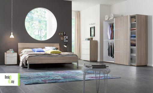 ארון 2 דלתות בחדר שינה